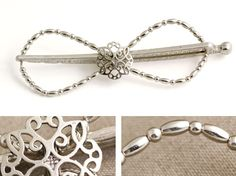 Lilla Rose Inc - Elegant Ornate Center combined with simple beads gives this Flexi Clip a classy look