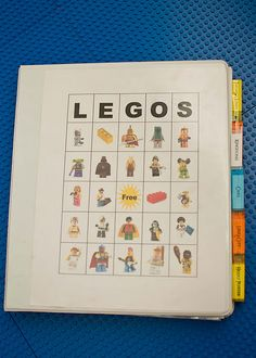 Lego instruction organization