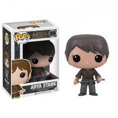 OH GOD I WANT THIS SO BAD!!! Game of Thrones Pop! Television Arya Stark Figurine