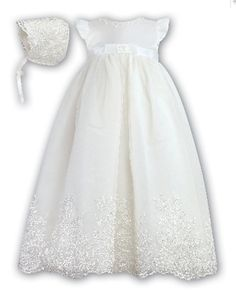 Christening Gown - Sarah Louise 089SZ - Robe and Bonnet