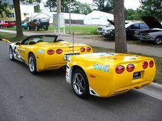 Corvette and trailer 1 by Smithy9.deviantart.com on @deviantART