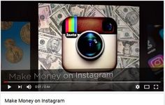 Do you want to know the complete strategy of making money online via instagram? then look no further and checkout what we have. The article is a complete and detailed A-Z guideline on starting your career with instagram and learning on how we can make money through it. https://www.youtube.com/watch?v=sSrDzBOl0xY