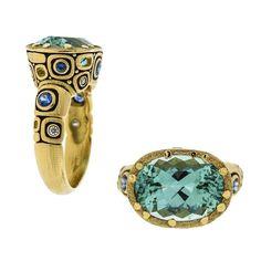 ALEX SEPKUS fashion #accessories #jewelry #rings.... love the Klimt feel to it