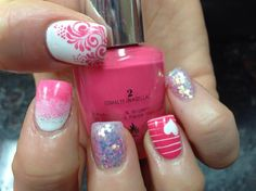 Pink Lover by Pinky - Nail Art Gallery nailartgallery.nailsmag.com by Nails Magazine www.nailsmag.com #nailart