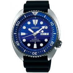 Shop for Seiko Men's Prospex Black Rubber Automatic Watch Get free delivery On EVERYTHING* Overstock - Your Online Watches Store! Seiko Diver, Timex Watches, Seiko Watches, Seiko Skx, Analog Watches, Seiko Automatic, Automatic Watch, Cool Watches, Watches For Men