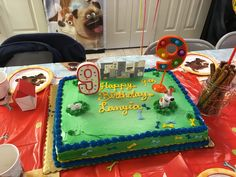 Oh & the Candles!!! B-day Cake: Secret Life of Pets!