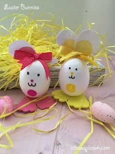 Citrus Spice and Travels: Easter Bunnies~ Bostik Challenge