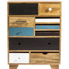 Dresser Babalou EU, 10 Drawer - KARE Design