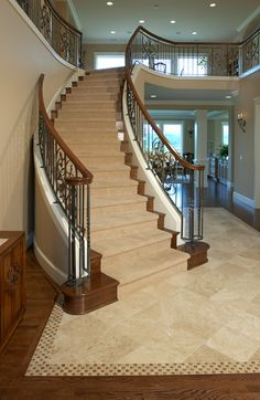 staircase    Repinned solely for the design inspiration of clients and friends of http://StebnitzBuilders.net