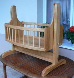 Cradle for granddaughter