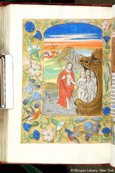 Book of Hours, MS M.1078 fol. 143v - Images from Medieval and Renaissance Manuscripts - The Morgan Library & Museum