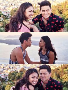 """I'll always thank God for creating this beautiful couple that sends me kilig feels all the time 💜😍 James Reid Wallpaper, Beautiful Couple, Beautiful Pictures, Photoshoot Bts, Filipina Beauty, Nadine Lustre, Jadine, Sanya, Lovey Dovey"