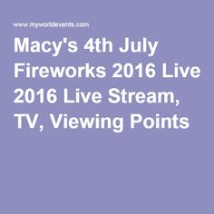 when is july 4th 2016