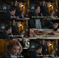 The Book Thief ~overprotective Rudy