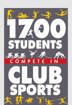 The Club Sports Program is comprised of 48 unique clubs.