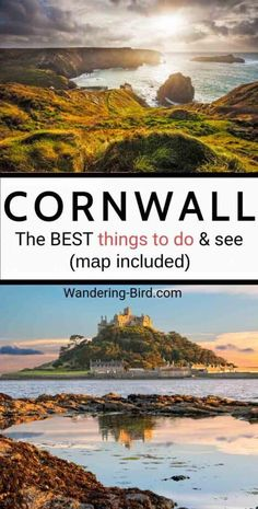 The BEST things to do in Cornwall, England in winter or summer. Beautiful beaches, Tintagel Castle, St Ives, Newquay and some SECRET places to see you've never heard of before! Plan your visit to Corn Road Trip Europe, Europe Travel Guide, Travel Destinations, Road Trips, Cornwall England, Yorkshire England, Yorkshire Dales, Best Places To Travel, Cool Places To Visit