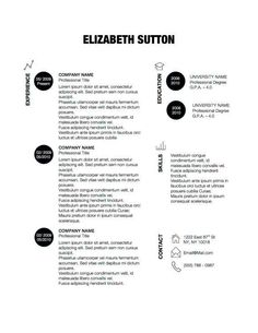 Functional Resume Layout 35 Best Cv Images On Pinterest  Page Layout Resume And Resume Design