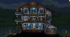 A Ski lodge type house I made recently. - Imgur
