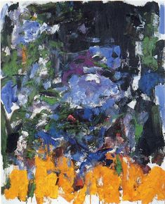 Bluet by Joan Mitchell