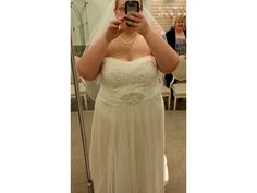 Plus size brides of all shapes & sizes can have custom plus size wedding gowns & replicas dresses made for less at www.dariuscordell.com