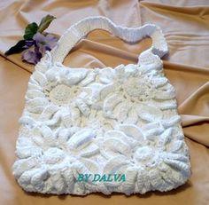 Bolsa em Crochê -  /   Bag  with Crochet -