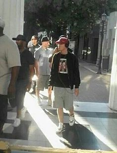 Eminem in Argentina before the Lollapalooza! 2016