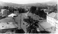 Historické fotky Handlovej - námestie
