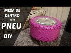 DIY - Puff de Pneu | Decoração de Ambientes :: Rebeca Salvador - YouTube