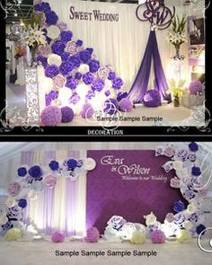 Sweet Wedding backdrop decor