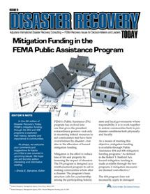 The types of projects that are eligible for funding from #FEMA's Hazard Mitigation Grant Program (HMGP)