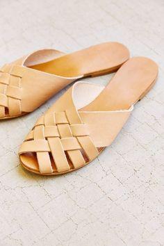 Basketweave Sandal