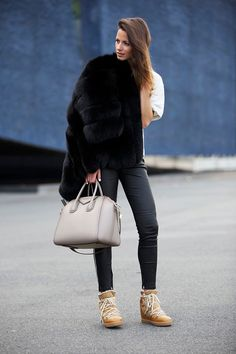 iro-pants,-isabel-marant-boots,-black-fur,-givenchy-bag