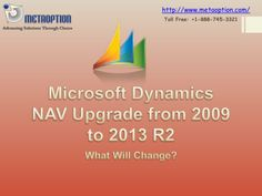 Microsoft Dynamics NAV Upgrade Call our experts  +1-888-745-3321