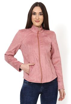 Women Jackets Online - Buy Winter & Western Jackets for Womens Online in India Jackets Online, Hooded Jacket, Jackets For Women, Winter Jackets, Peach, India, Stuff To Buy, Collection, Fashion