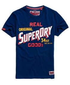 SUPERDRY Angebote Superdry 34 Street Goods T-Shirt: Category: Herren / T-Shirts / T-Shirt mit Print Item number:…%#Mode%