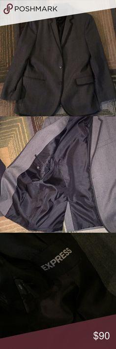 Express blazer men's 42R Express blazer men's 42R, excellent condition, 100% wool Express Suits & Blazers Sport Coats & Blazers