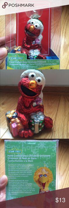 Elmo Christmas Frame Personalized Christmas Ornament | Elmo christmas