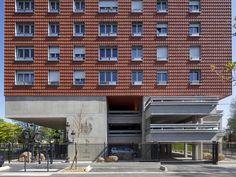The Orange of Ris by Maison Edouard François - News - Frameweb #architecture #design