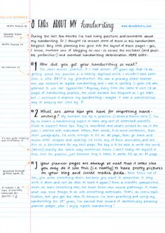 Handwriting practice pages and this blogger has a lot of info on journaling.