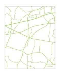 map of Fairfax