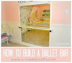 DIY Ballet Bar by Laci Hansen