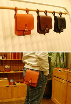 TANZO Fannie pack leather pocket bag