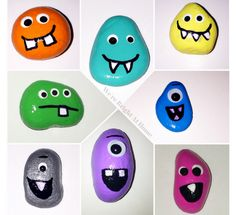 Let your kids make this awesomely easy and fun rock monster craft with your kids while they are on Summer break! 8 Ultimate Painted Rock Monsters For Kids To Make That Will Blow Your Mind Craft Projects For Kids, Fun Activities For Kids, Easy Crafts For Kids, Arts And Crafts Projects, Easy Diy Crafts, Diy Home Crafts, Toddler Crafts, Preschool Crafts, Diy For Kids