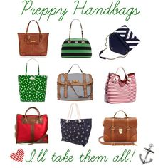 Preppy Handbags It S A Personal Style However I Lean More Towards Classic Not