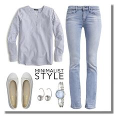 """Untitled #862"" by gallant81 ❤ liked on Polyvore featuring J.Crew, Levi's, DIENNEG, Movado and Marc Jacobs"
