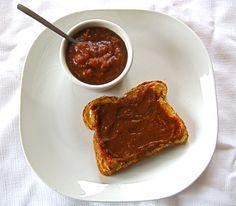 Simple Slow Cooker No-Sugar Apple Butter [gluten-free, soy-free, vegan]