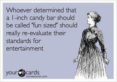 """""""fun sized"""""""