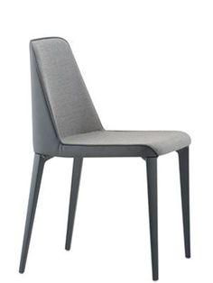 Pedrali Laja 880 | Sedia design con sedile e schienale imbottito