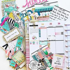VILLABEAUTIFFUL Whimsical Delight Planner Kit   www.shopvillabeautifful.com