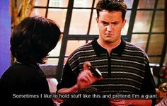 Pin for Later: 25 Chandler Bing Lines That Still Make You Laugh Out Loud When He Really Demonstrates His Imagination